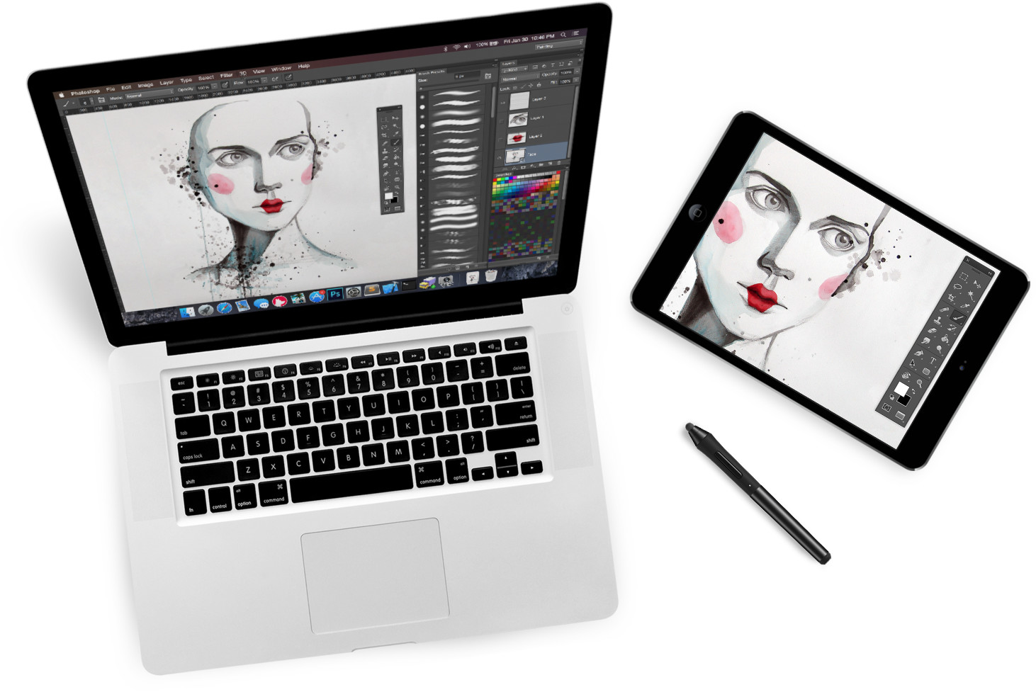 Turn Your iPad into a Graphics Tablet? Yes, Please!