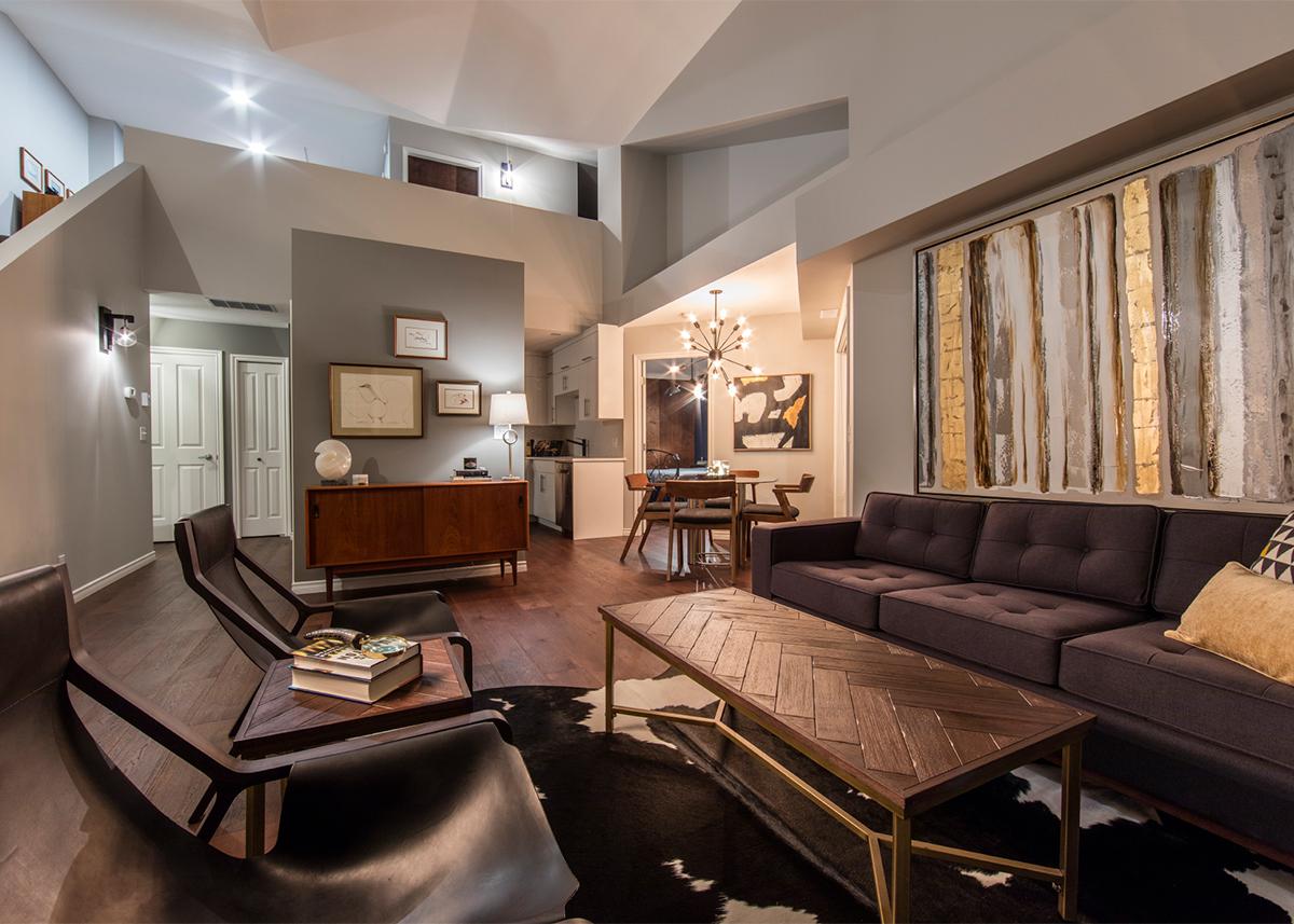 Interior Design Kelowna  MidCentury Condo  Creative