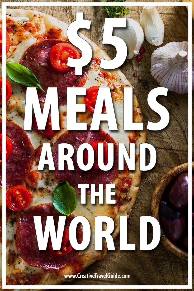 $5 meals around the world