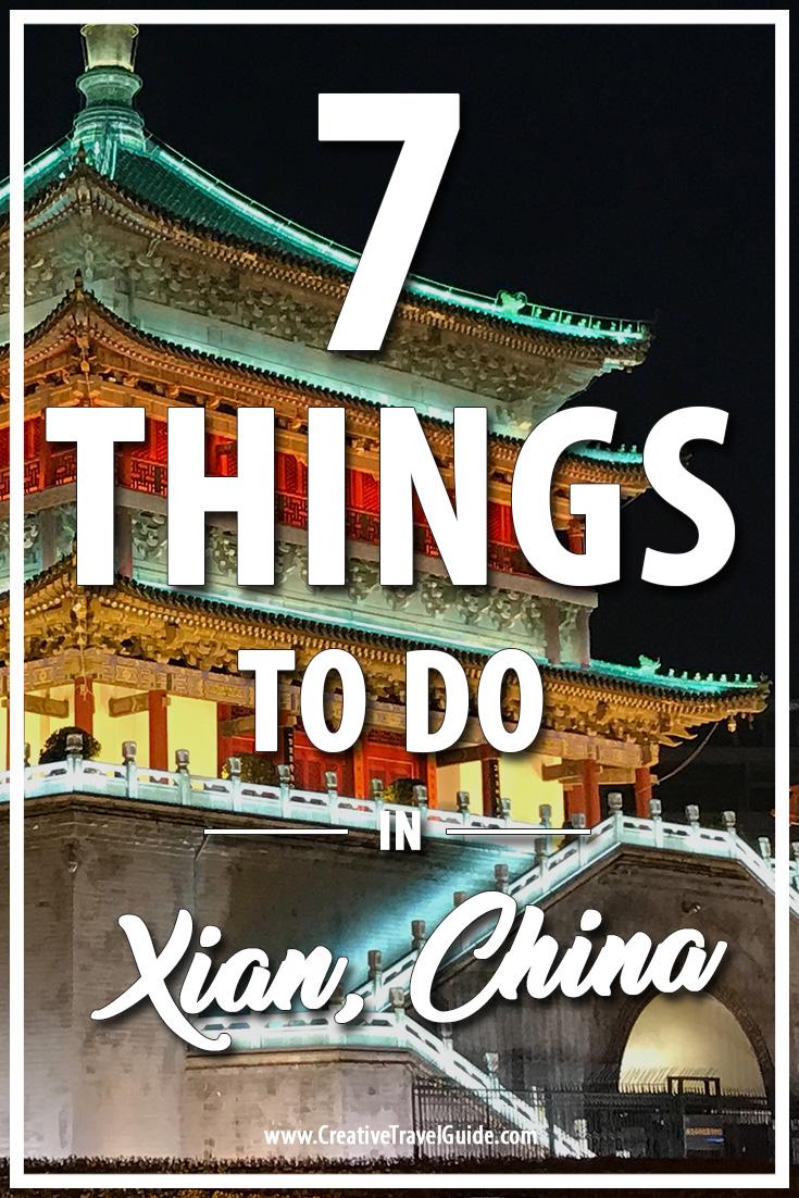 7 things to do in Xian