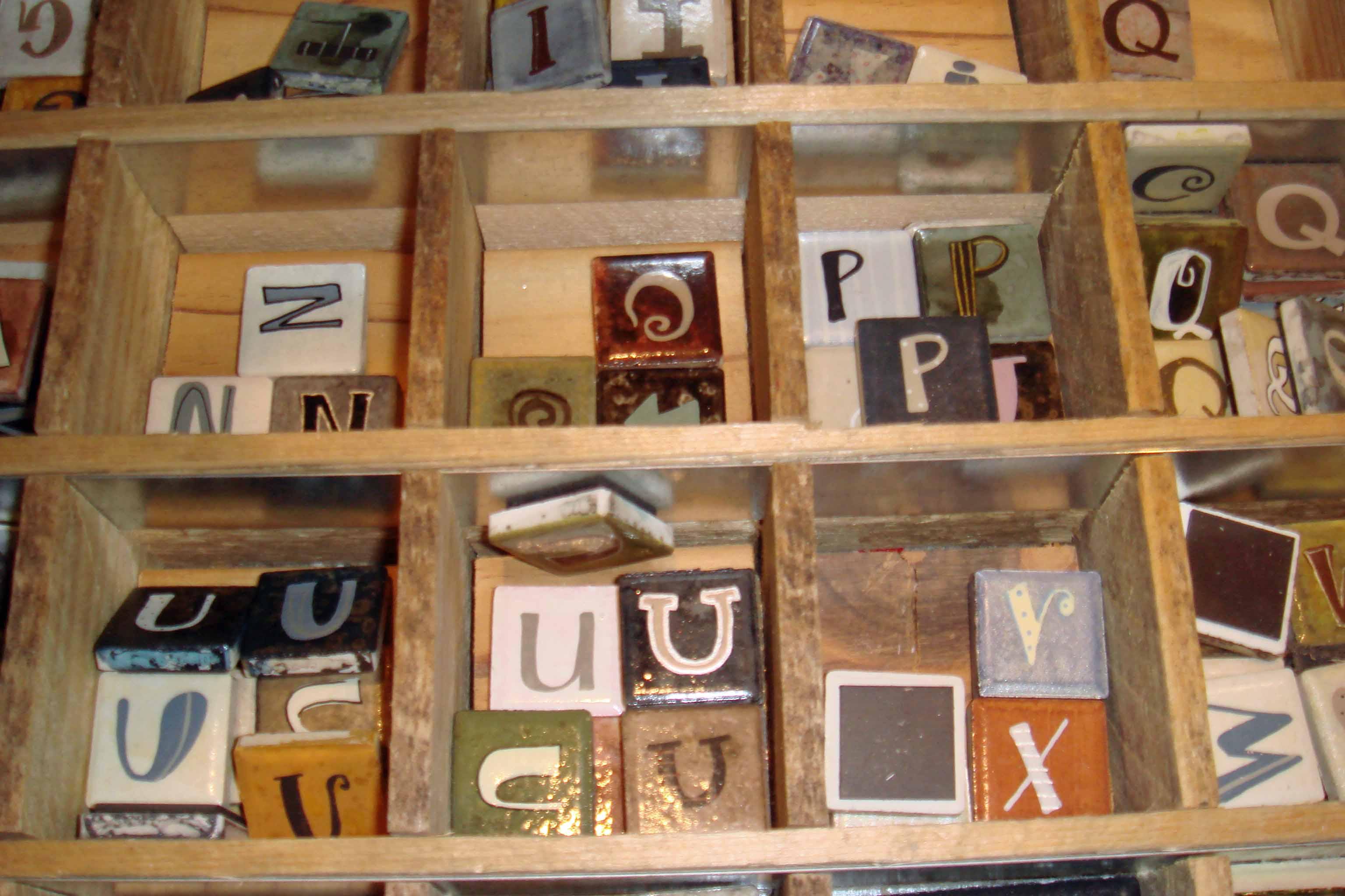 studio blackbird letters