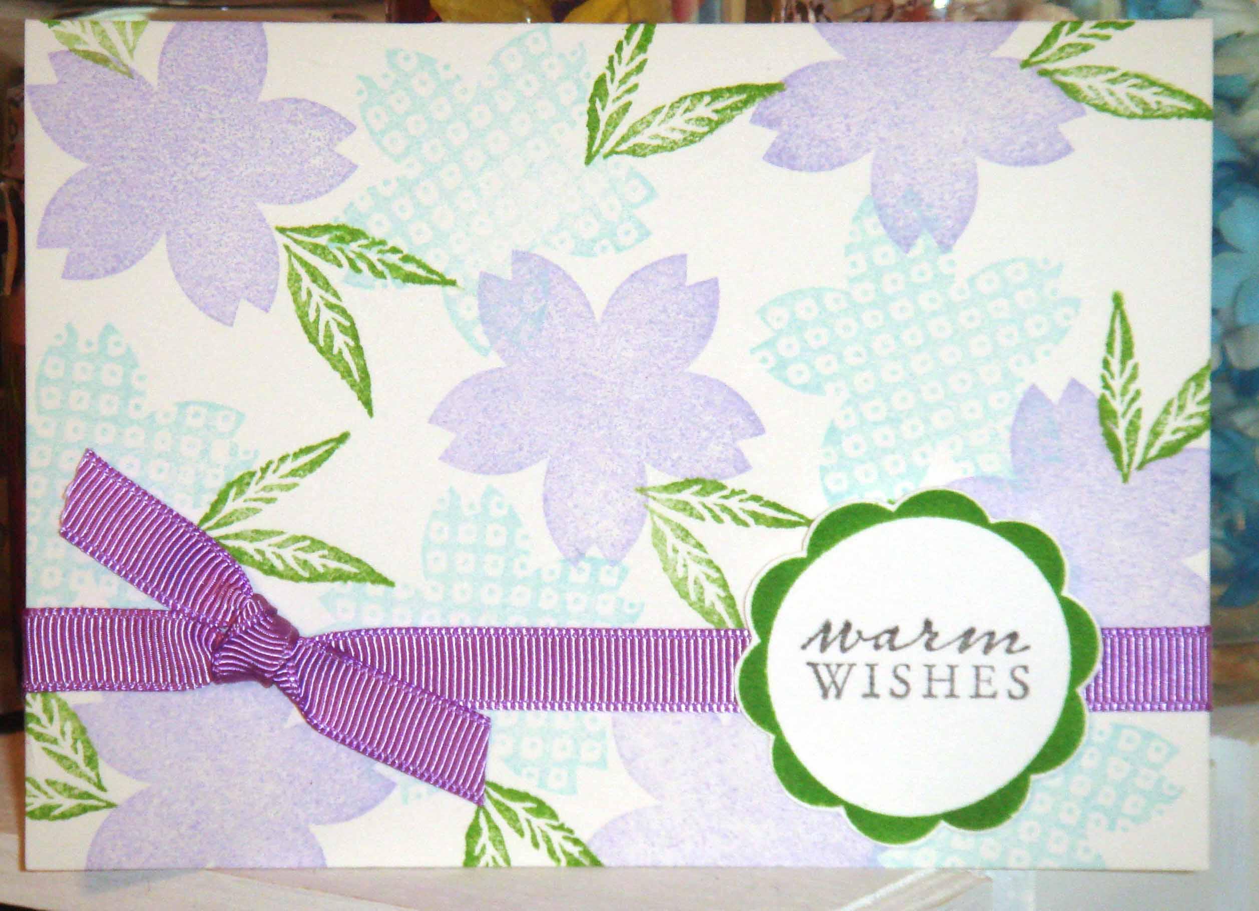 purple, blue warm wishes