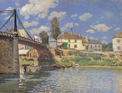 Bridge at Villeneuve-la-Garenne