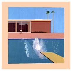 A Bigger Splash by David Hockney in 1967