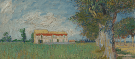 Farmhouse in a Wheatfield, 1888