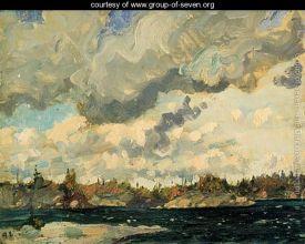 Stormy Sky by Arthur Lismer