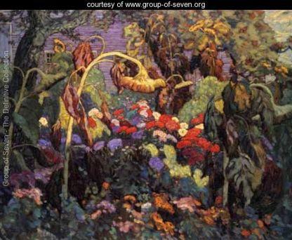 Tangled Garden by J.E.H. MacDonald