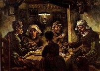 The Potato Eaters, 1885