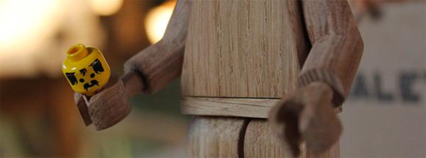 Wood lego