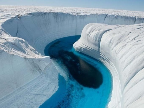 The Ice Canyons of Greenland