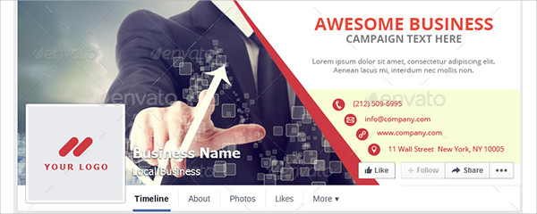 Business Campaign Facebook Cover