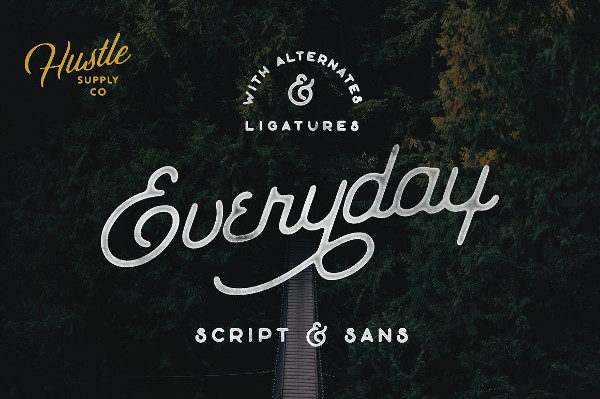 Everyday Font Duo