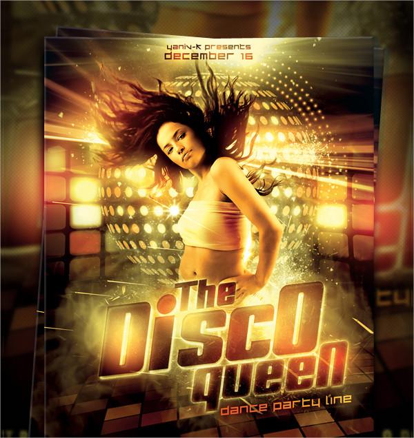 Queen Disco Flyer Templates