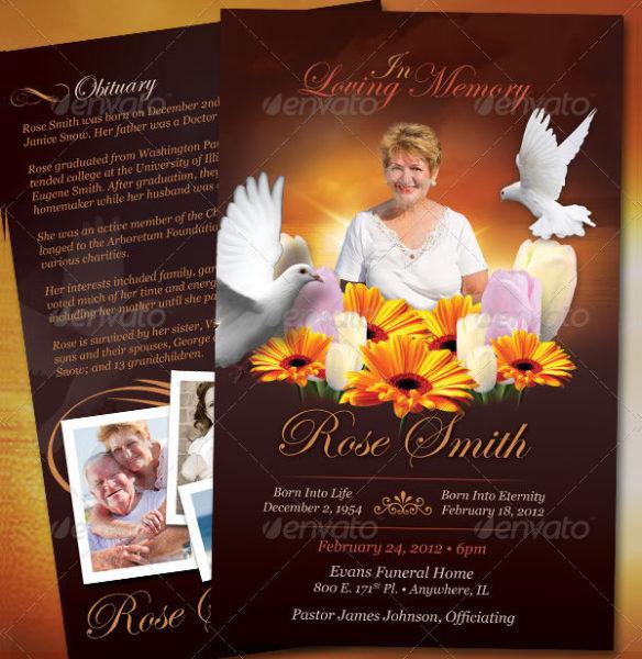 Flowers Funeral Brochure