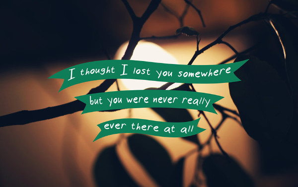 Here Is Gone Breakup Quote