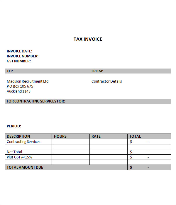 Invoice Templates 15 Free Word Pdf Documents Download