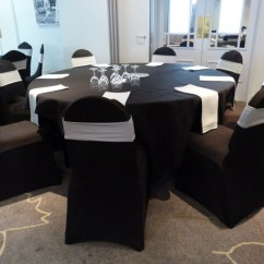 Silver Chair Covers Uk Zuo Modern Creative Wedding And Events Gallery Black With Band