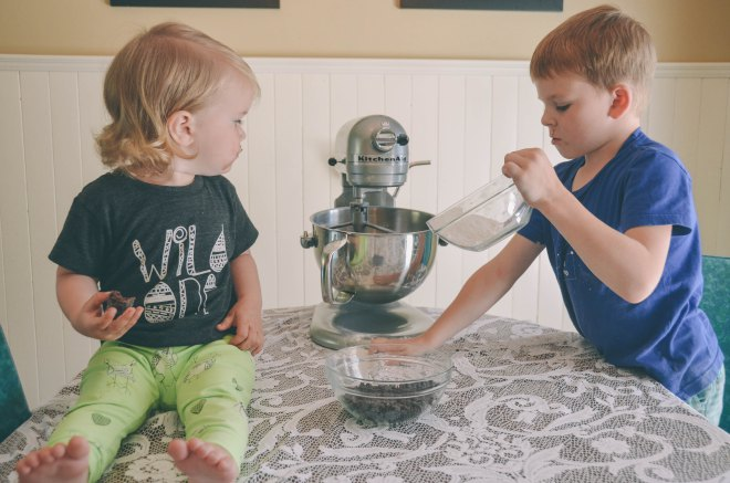 Baking with Kids | Mini Chocolate Chip Cookie Recipe