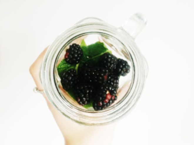 simply perfect water recipe with lots of flavour blackberry mint lime mix