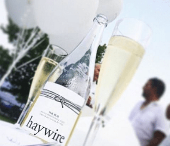 sip and savour with haywire wine