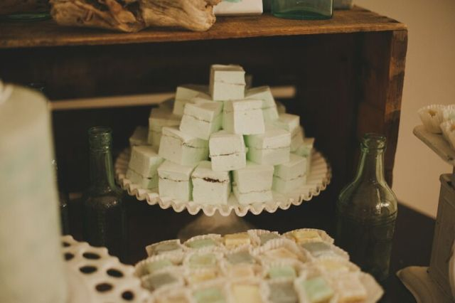 mint chocolate mashmallows by marsh and mallow