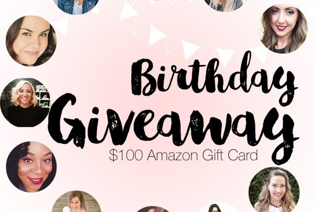 blog anniversary giveaway