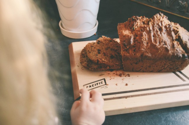 Easy Recipe for Baking With Kids -- Zucchini Loaf with Cranberries | Creative Wife & Joyful Worker