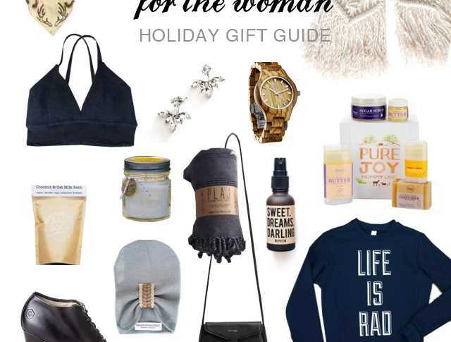 Woman's Holiday Gift Guide and Giveaway