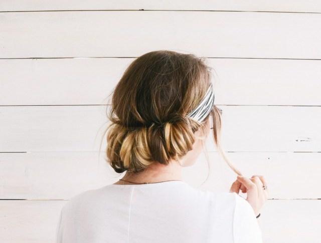 2 Minute Hair Tutorial