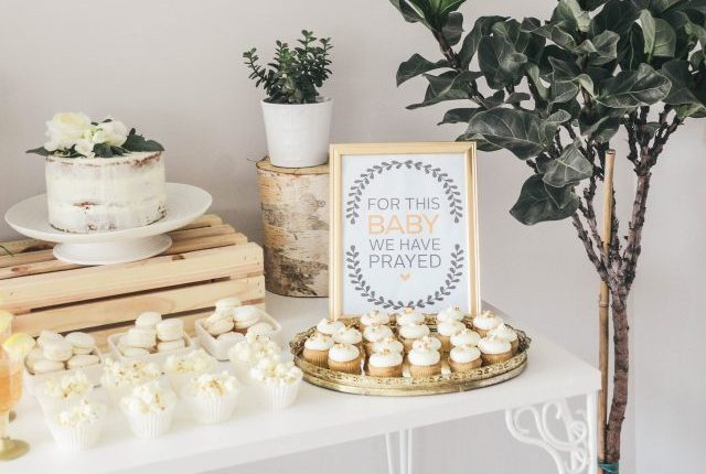 Baby Shower Free printable - For This Baby We Have Prayed