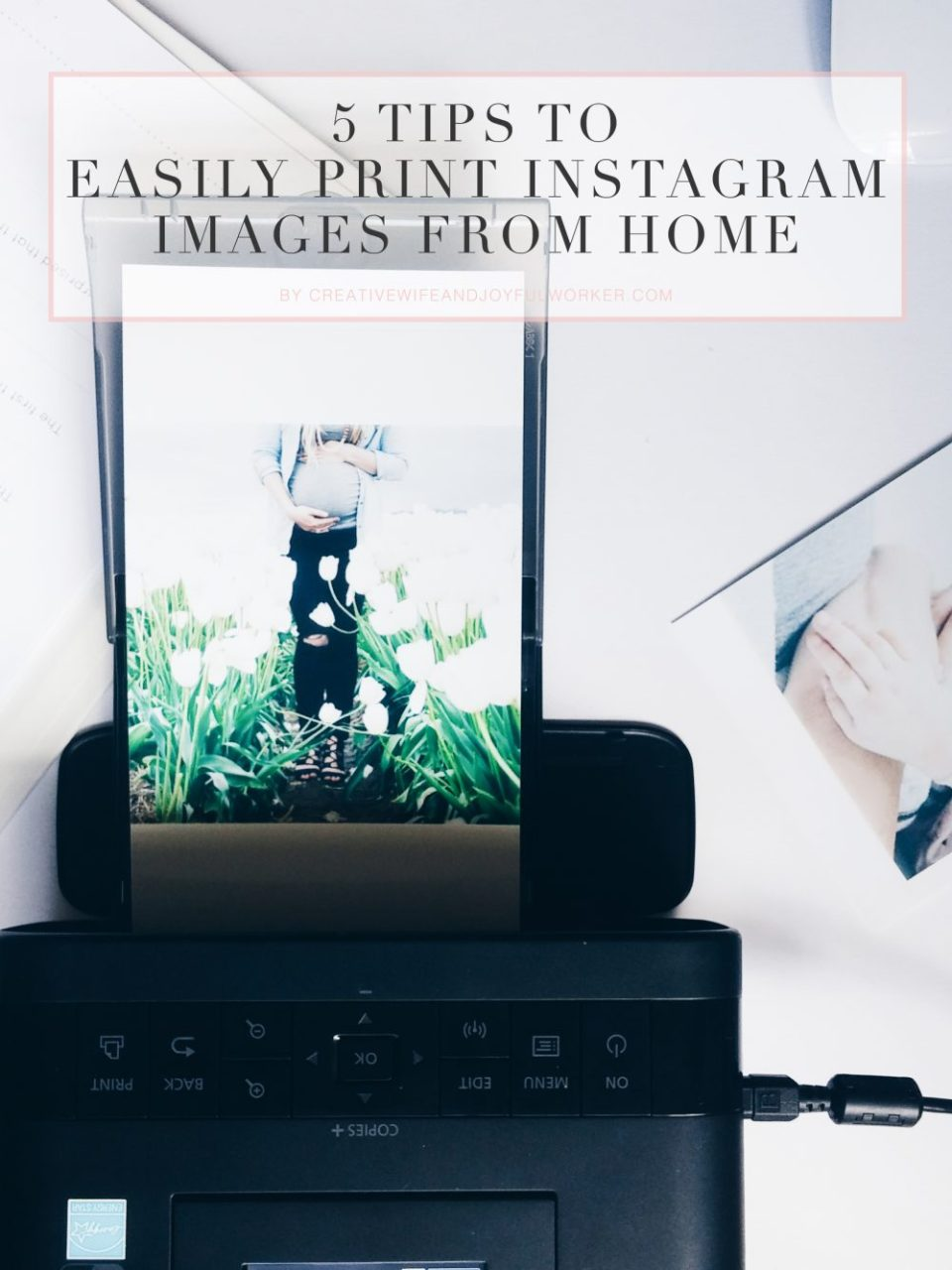 5 Tips To Print Instagram Images From Home