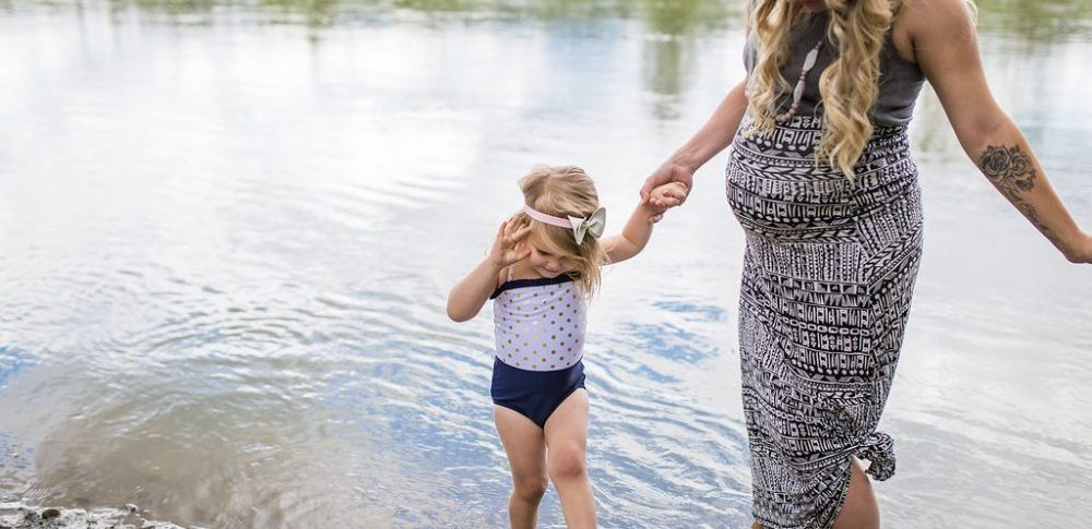 Mother and Daughter Maternity Style