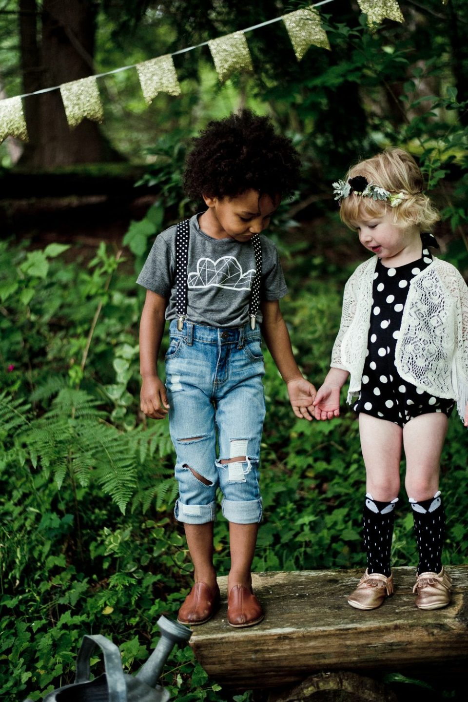 Kids Whimsical Woodland Soiree