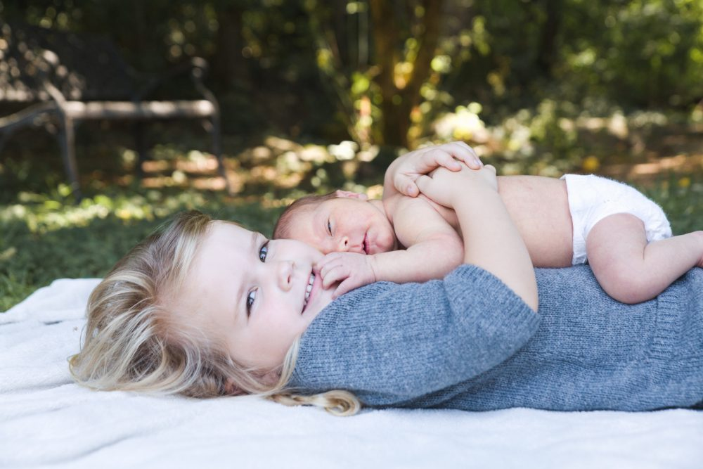 Two Sisters | Newborn Baby Photography