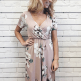 Floral Fall Dress | Hunnis Boutique