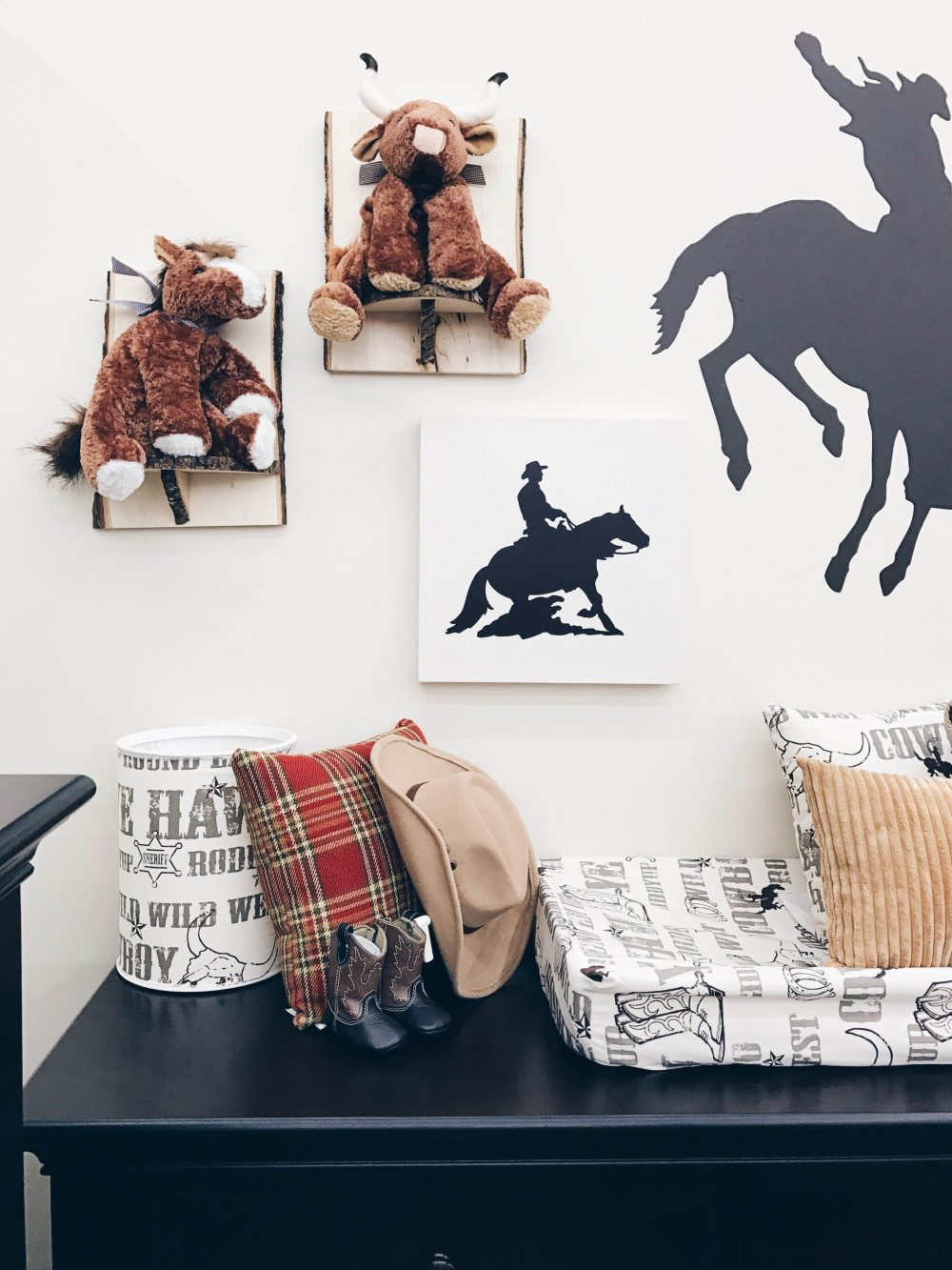 Western Themed baby room decor
