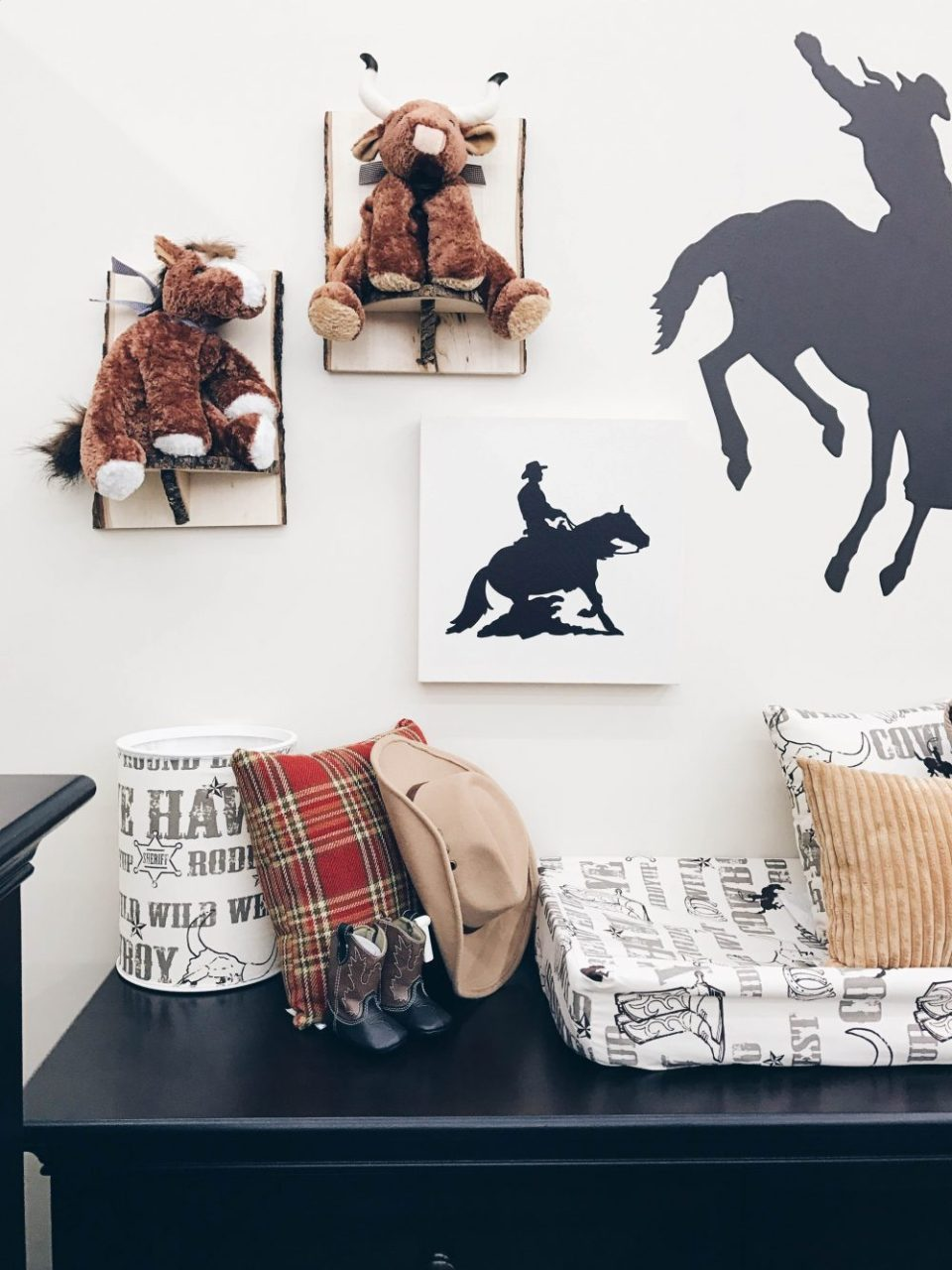 Baby Gift Registry Tips | Western Themed baby room decor