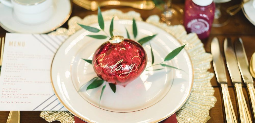 Holiday Christmas Event Decor Ideas by Epic Events Vancouver | Blogger Brunch | Red and Green Party