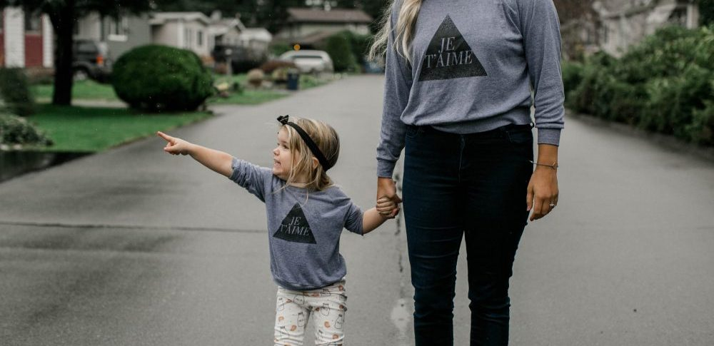 Mother and Daughter Twinning | Thoughts on what it means to become a mother and when that day comes at different ages for your children.