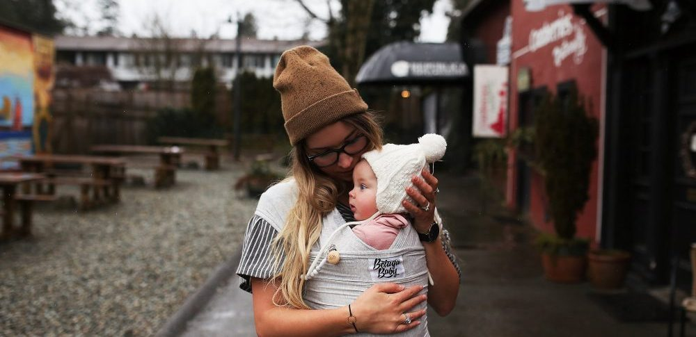 The One Baby Product I could not live without   Beluga Baby Wrap   Photo by Tamara Clark