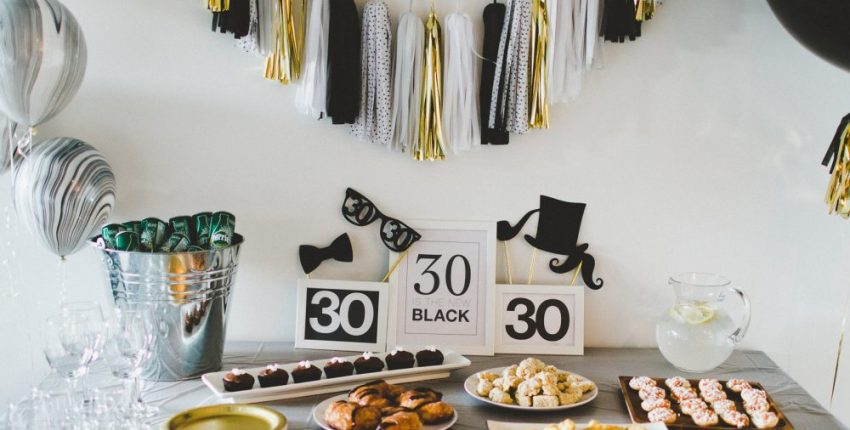 """Thirtieth Birthday Party Free Printable 