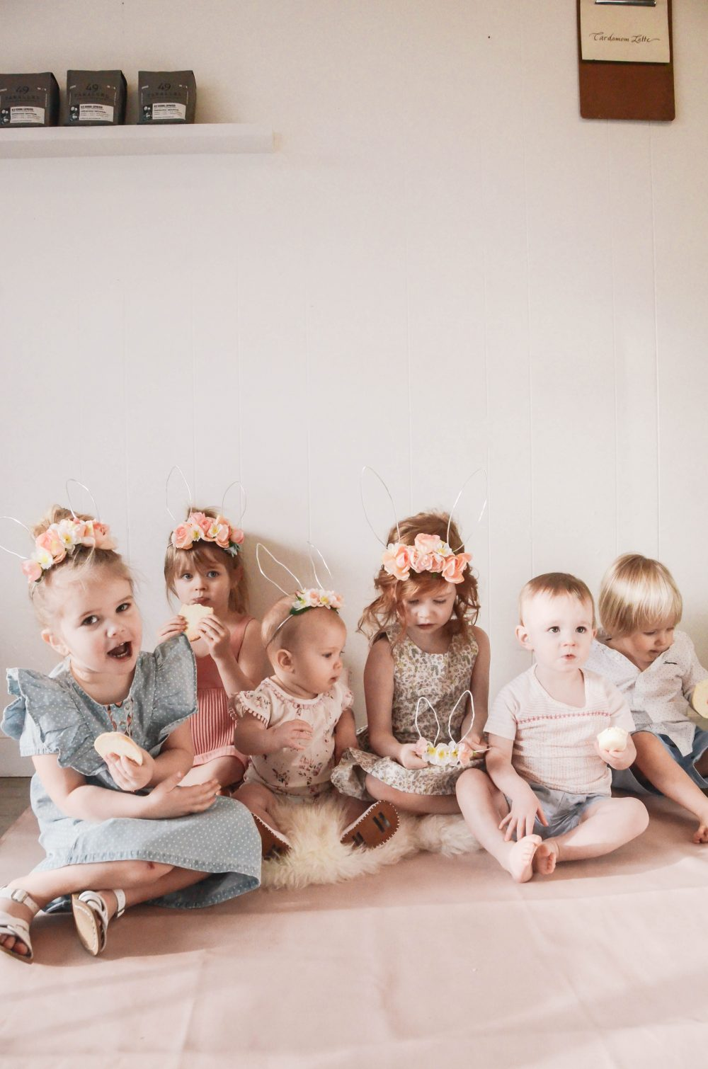 Kid's Spring Style and DIY Floral Bunny Ears