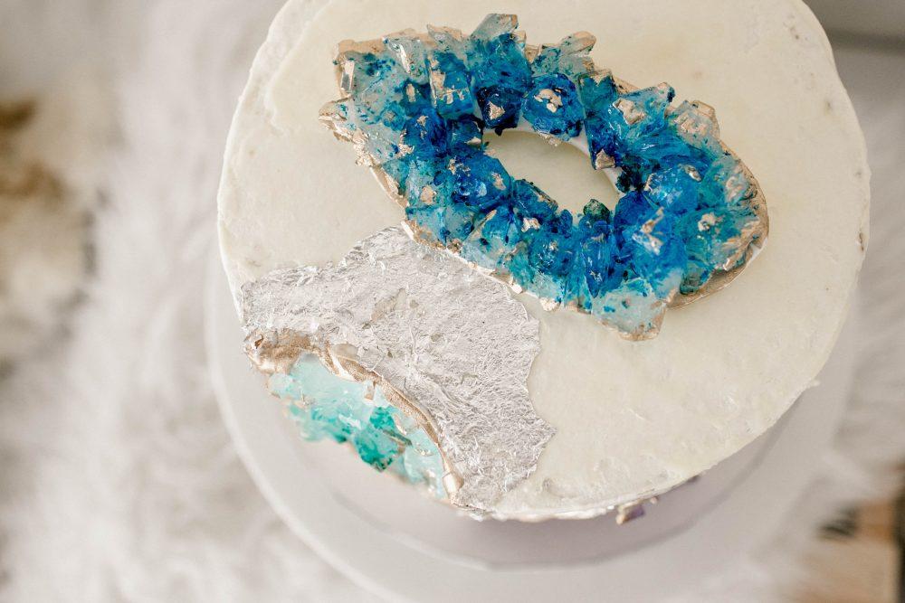Gemstone Cake for our Little Gem Baby Shower