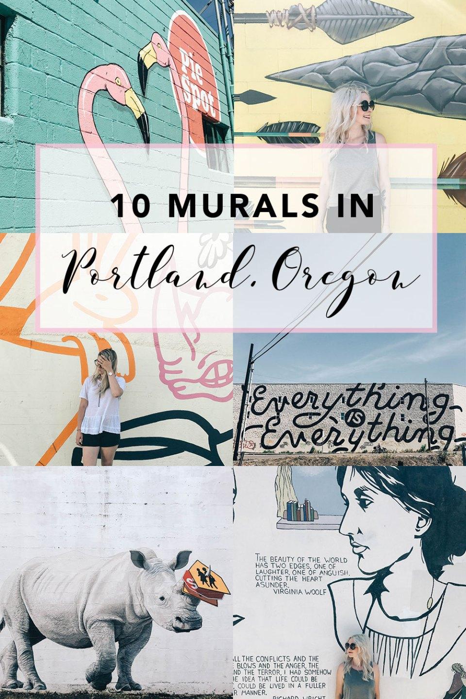 10 Murals In Portland Oregan