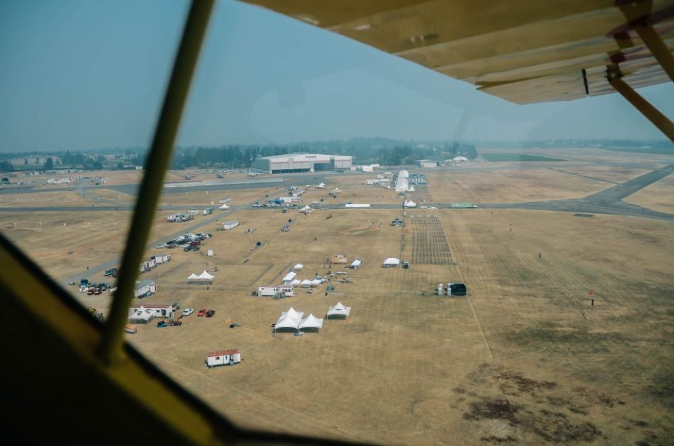 Abbotsford International Airshow View from above | 2017 Set Up | Jelly Belly Airplane | Abbotsford International Airshow Media Flight