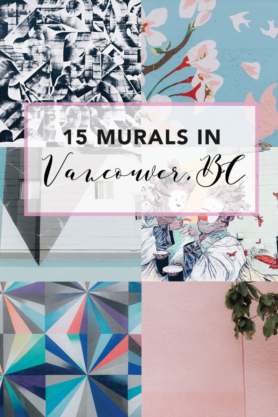 15 Murals / Colourful Walls in Vancouver, British Columbia | Explore the cite of Vancouver and discover these popular Murals on Main Street and in the Strathcona Area | Things to do in Vancouver on the weekend