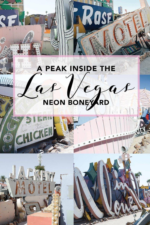 Las Vegas Neon Museum / Boneyard | Things to do and see in Las Vegas, Nevada | Photo by Creative Wife and Joyful Worker