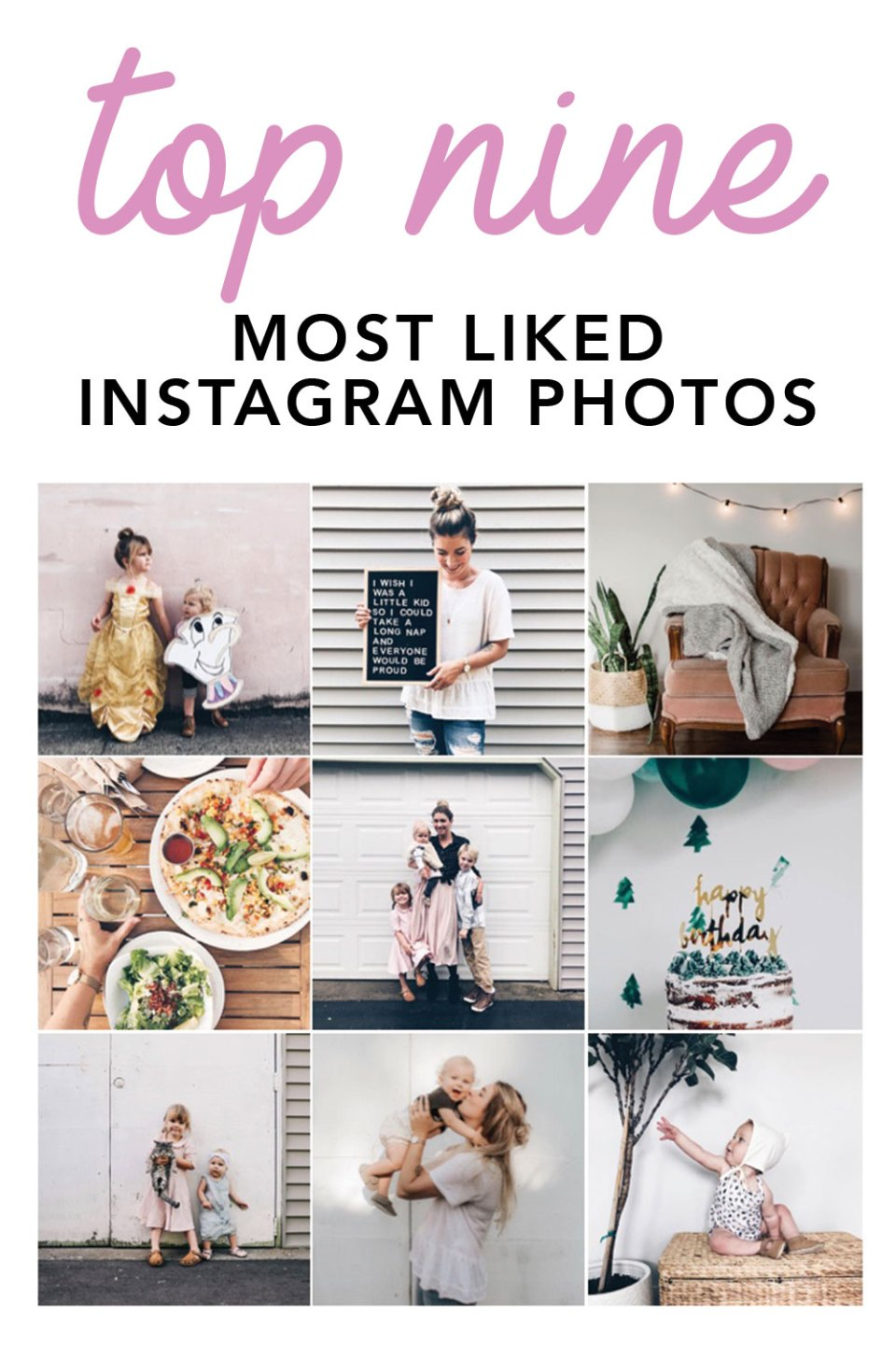 Click Here to Find Your Top NIne Instagram Photos of 2017