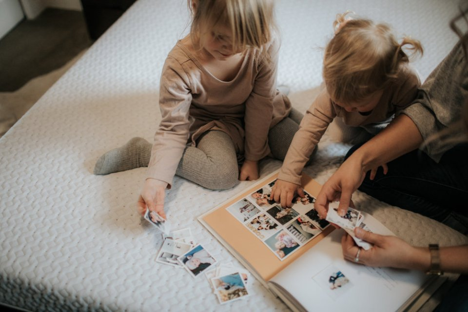 """Looking at Mushy Books baby book on Canadian """"Bed in a Box"""" Endy Mattress 