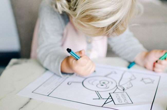 Klassen Farms Colouring Contest | Free Printable Colouring Sheet